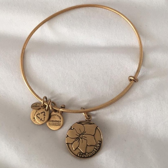 godmother bangle gold charm bracelet alex finish and ani rafaelian
